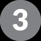 number 3 in grey circle