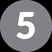 number 5 in grey circle