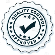 quality control approved badge